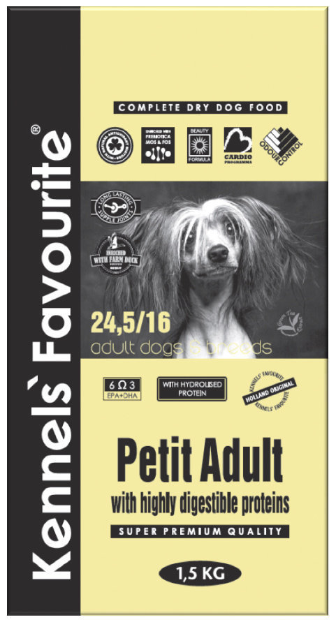 Корм для собак мелких пород Kennels' Favourite Petite Adult 181.970.jpg