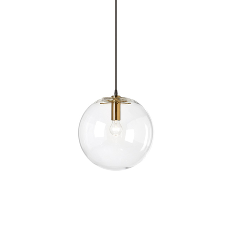 Подвесной светильник копия SELENE by ClassiCon D30 (золотой)