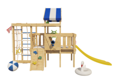Детская игровая кровать-чердак Дори