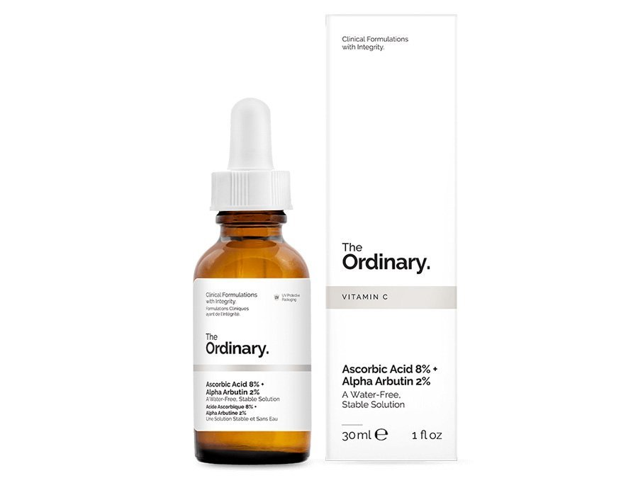 Сыворотка The Ordinary Ascorbic Acid 8% + Alpha Arbutin 2% 30мл