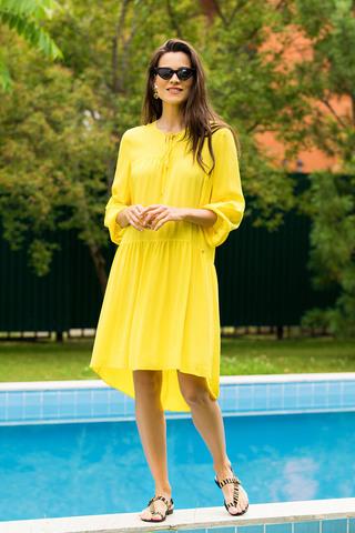 Туника 51780-1 жёлтый Laete