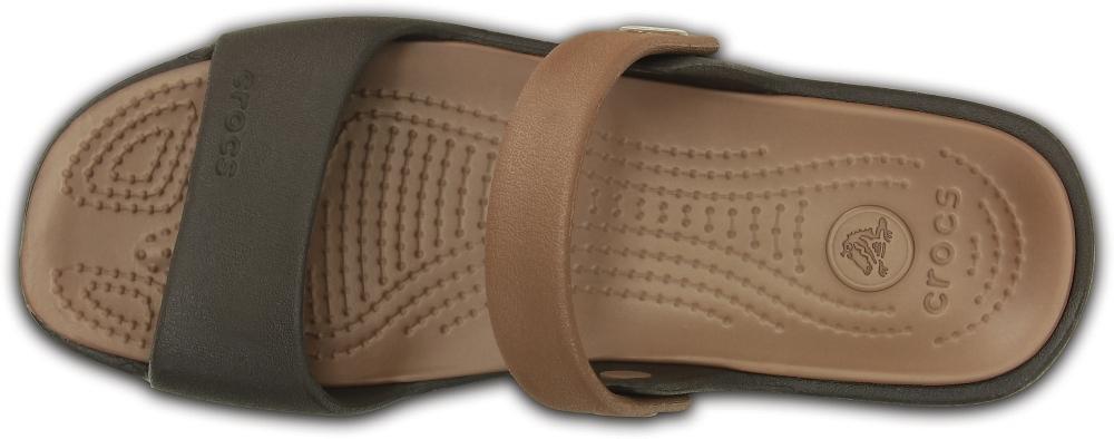 Женские сандалии Crocs Coretta W (Espresso/Bronze) 200067-25M
