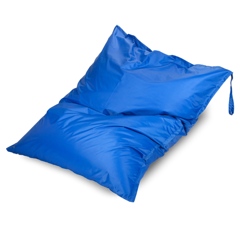 Бескаркасное кресло «Подушка», Синий