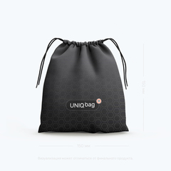 Meeple House.Uniq Bag 15 Black