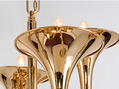 Подвесной светильник копия Botti by Delightfull (12 плафонов)