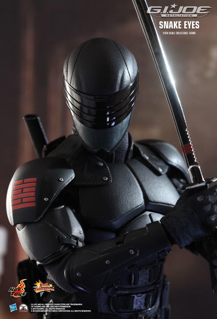 G.I. Joe Retaliation - Movie Masterpiece 1/6 Scale Snake Eyes