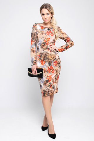 <p>Хотите быть в центре внимания? Тогда это платье самое то! Идеальное платье приталенного силуэта, рукав длинный.</p>