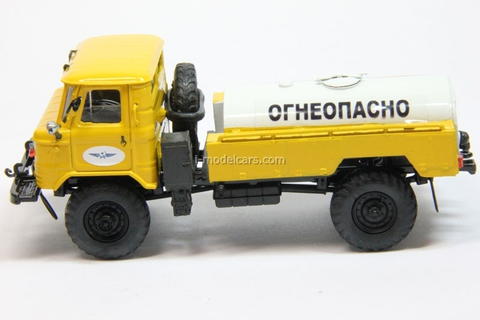 GAZ-66 tanker Aeroflot Flammablly Agat Mossar Tantal 1:43