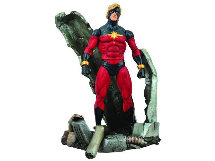 Марвел Селект фигурка Капитан Марвел — Marvel Select Captain Marvel