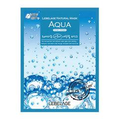 Lebelage Aqua Natural Mask - Тканевая маска для лица увлажняющая с морской водой