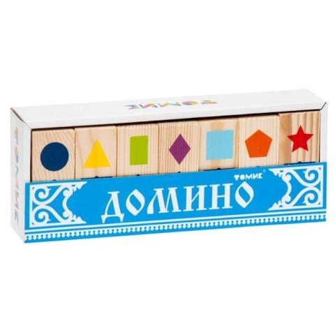 Домино детское Геометрические фигуры, Томик