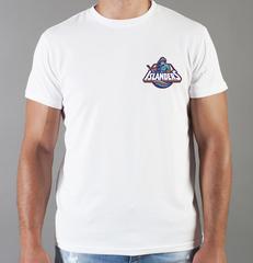 Футболка с принтом НХЛ Нью-Йорк Айлендерс (NHL New York Islanders) белая 0010