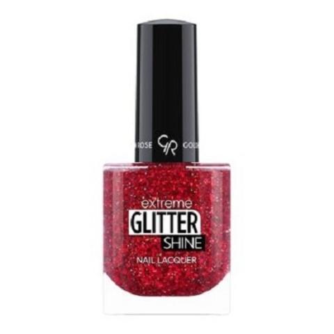 Гель-лак Glitter Shine Nail Lacquer Golden Rose, 210