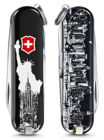 Нож-брелок Victorinox Classic LE 2018, 58 мм, 7 функций,