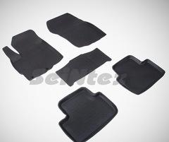 Резиновые коврики для Citroen C4 AirCross, высокий борт