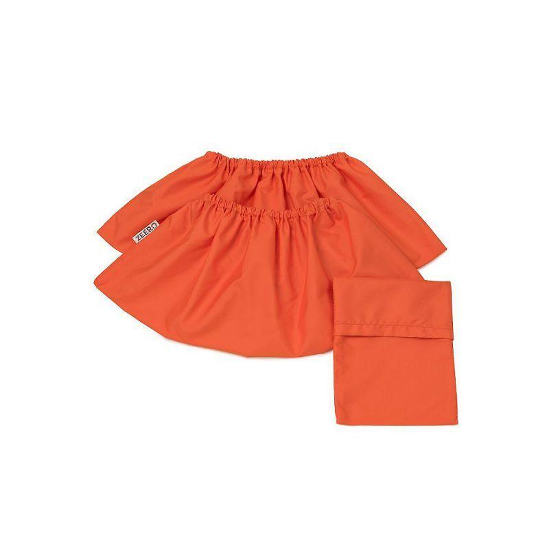 Многоразовые детские бахилы ZEERO Dewspo с мешочком, оранжевые