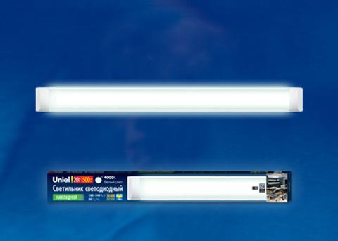 ULO-CL60-20W/NW SILVER Светильник светодиодный накладной. Белый свет (4000K). Корпус серебристый. ТМ Uniel.
