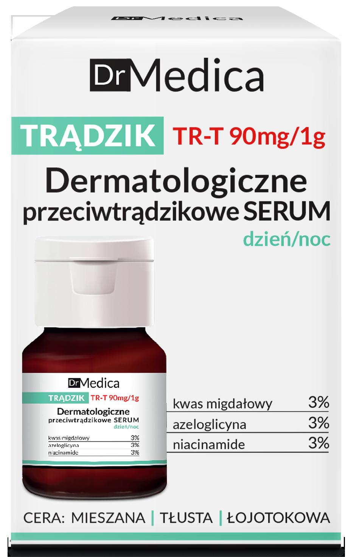 DR MEDICA ACNE Дерматологическая сыворотка анти-акне дневная/ночная, 30 мл