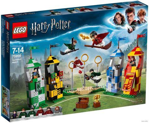 LEGO Harry Potter: Матч по Квиддичу 75956 — Quidditch Match — Лего Гарри Поттер