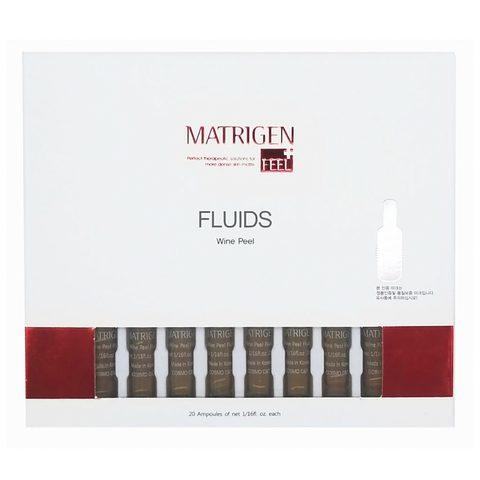 Сыворотка Matrigen Wine Peel Fluids (виноградный пилинг) 1 коробка 20 ампул по 2 мл.