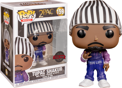 Фигурка Funko Pop! Rocks: 2Pac - Tupac Shakur (Excl. to FYE)