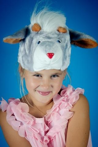 Карнавальная шапочка Козлёнка 2