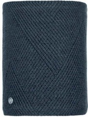 Шарф-труба вязаный с флисовой подкладкой Buff Neckwarmer Knitted Polar Disa Black