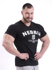 Мужская футболка Nebbia 396 black