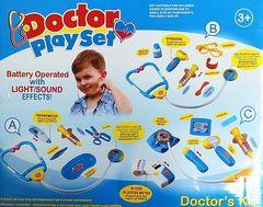 Набор Доктор голубой (свет+звук) в коробке