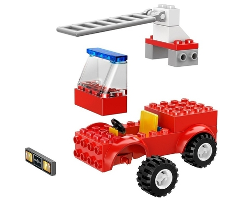 LEGO Juniors: Пожарная машина 10671 — Fire Emergency — Лего Джуниорс Подростки