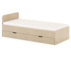 Кровать КР-07 ясень шимо светлый
