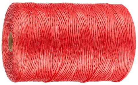 Шпагат ЗУБР многоцелевой полипропиленовый, красный, d=1,8 мм, 110 м, 50 кгс, 1,2 ктекс
