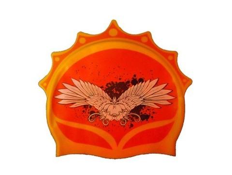 Шапочка для плавания QUICK (корона). Материал: высококачественный силикон. Полиэтиленовая сумочка на молнии. :(СR):