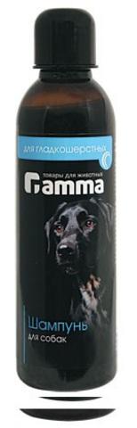 ГАММА 10300 Шампунь д/собак гладкошерстных 250мл*40