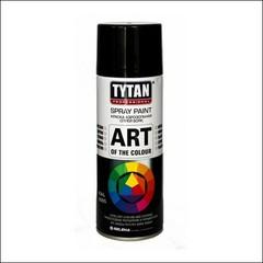 Краска аэрозольная Tytan Tytan Professional Art of the colour (черная глянец)