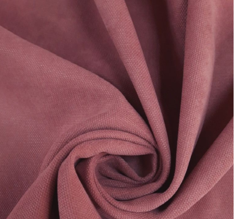 Канвас - ткань для штор - темно-розовый. Ширина - 280 см. Арт.  511-12