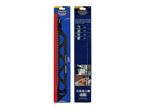 Пилки для лезвийной пилы ПРАКТИКА твердосплавные S2243HM, по газобетону, длина 455 мм,  ша (776-720)