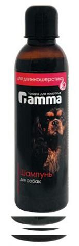 ГАММА 10400 Шампунь д/собак длинношерстных распутывающий 250мл*40
