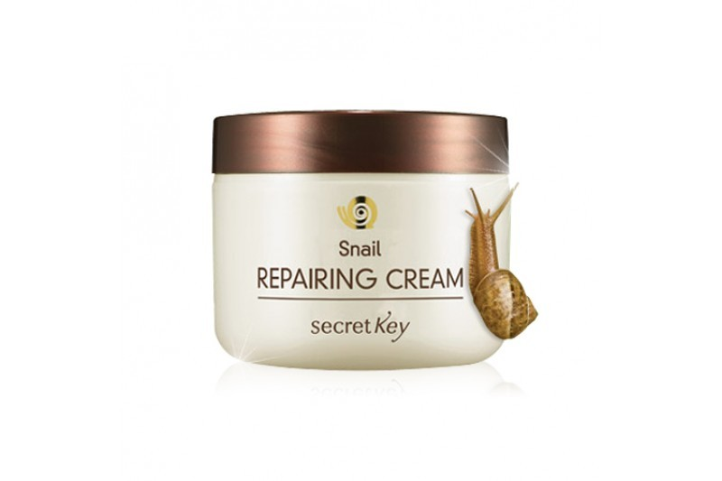 Крем для лица с экстрактом муцина улитки Secret Key Snail Repairing Cream