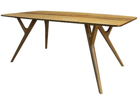 Обеденный стол из бамбука Greenington AZARA GA-0008-CA, карамель