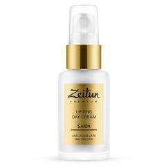 Дневной разглаживающий крем-лифтинг SAIDA для зрелой кожи с 24K золотом, Zeitun