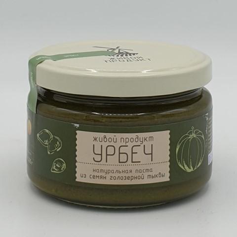 Урбеч из семян голозерной тыквы ЖИВОЙ ПРОДУКТ, 225 гр