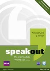 speakout Pre Intermediate Workbook with Key and Audio CD Pack