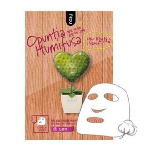 Успокаивающая тканевая маска с экстрактом опунции Opuntia Humifusa Mask Pack
