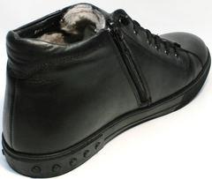Зимние ботинки мужские черные Ridge 6051 X-16Black