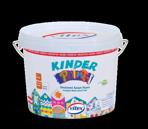 Водоэмульсионная краска для стен и потолков  Kinder Paint