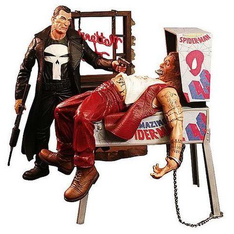 Марвел Селект фигурка Каратель — Marvel Select The Punisher
