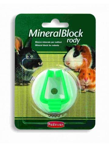 Padovan MineralBlock Rody минеральный камень для грызунов 50г
