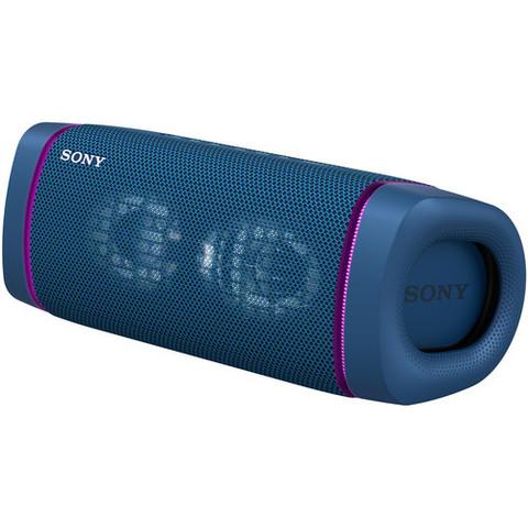 SRS-XB33L портативная акустика Sony EXTRA BASS, синий цвет