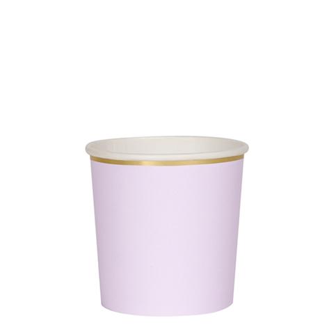 Стаканы фиолетовые